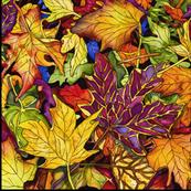 Autumn Leaves Medium Scale