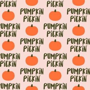 Pumpkin Pickin' - Pink - Fall - LAD19