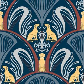 Art Nouveau Retriever