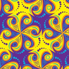 psychedelic tribal tetrad v1