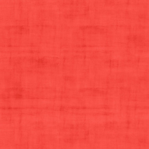 Tropical Sunset Coral Red with Texture