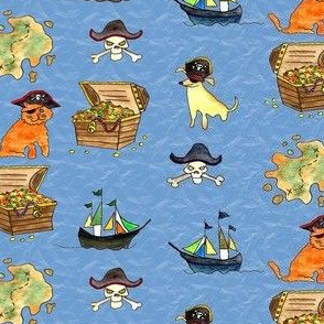 Pirate Pets and Treasures