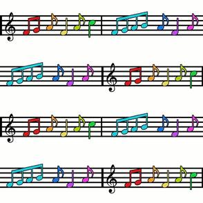 Rainbows of Music Large