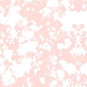 SMALL - blush pink fabric painted nursery baby girls fabric