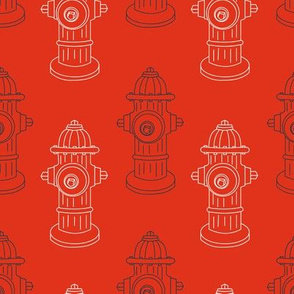 Fire Hydrants - Red
