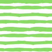 Paper Straws in Bright Green Horizontal