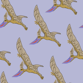 pterodactyl purple