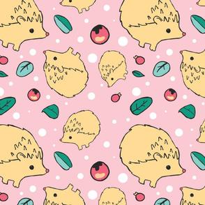 Hedgehog and polkadots