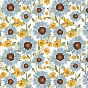 Sunflower Fields Medium 4.5x4.5