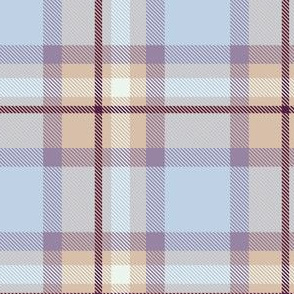 Purple and Magenta Plaid V.03-01