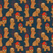 Cocker Spaniel - Fireman Dogs SMall Scale