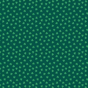Polka Dot Shamrocks Tiny