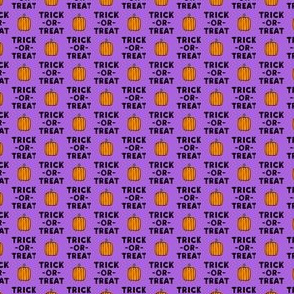 (micro scale) trick or treat - stack purple - halloween - LAD19BS