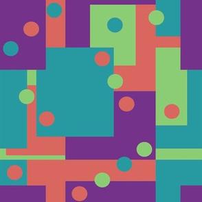 Colorblock Domino Rebellion Complementary 1