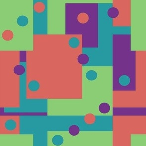 Colorblock Domino Rebellion Complementary 2