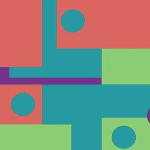 Colorblock Domino Rebellion Complementary 3