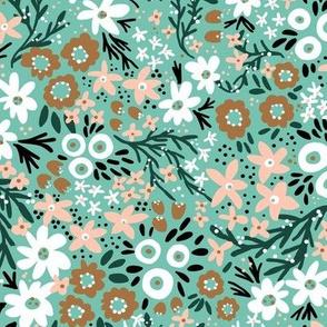 Wilderness Wildflowers (Mint)