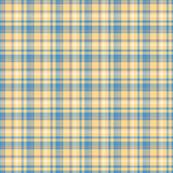 Yellow and Blue tartan
