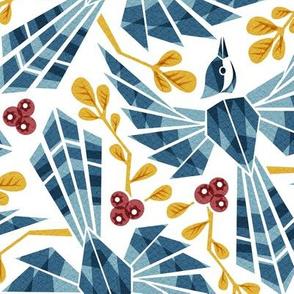 kaleidoscopic jay (autumn)