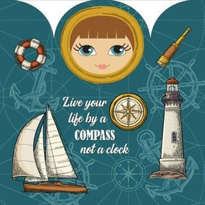Peace Doll-Compass