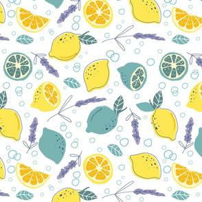 Fresh Lemons color 1