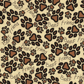 Dog Days Animal Paw Prints