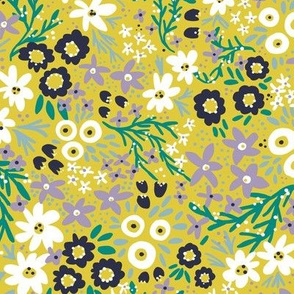 Wilderness Wildflowers (Gold)