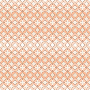 Orange Peel in Peach Seamless Repeat Pattern