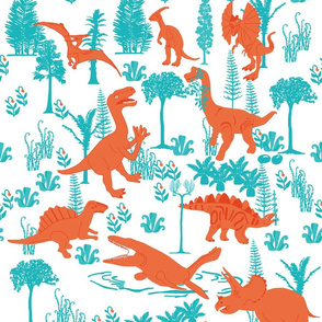Dino forest