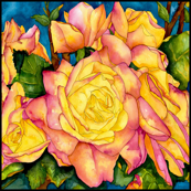 Peace Roses Large Scale