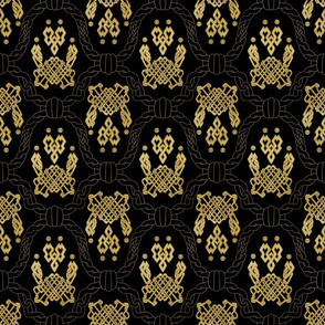 Knot more pawprints - Golden Effect dog paws