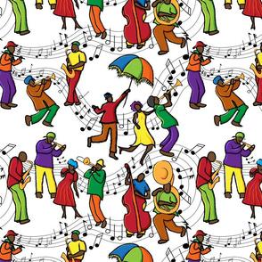3/4 size Jazzy Mystical Music Krewe