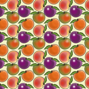 Fruit Tree Salad Pattern
