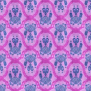 Knot more pawprints - Bubblegum Blitz dog paws