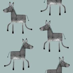 Donkey on Sage
