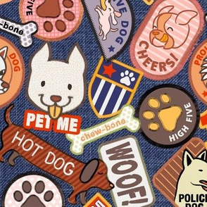 Dog Scout Badges