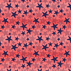 Starfish Dreams - Coral (Small)