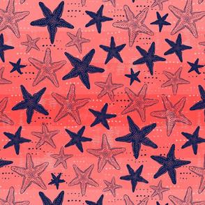 Starfish Dreams - Coral (Large)