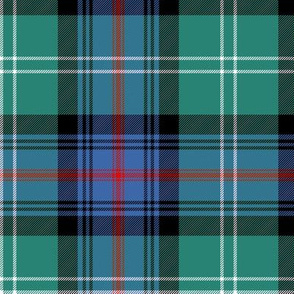 """Sutherland Old tartan, 6"""", muted colors"""