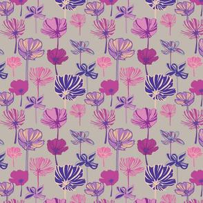 linear flowers 1