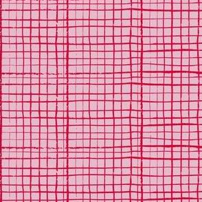 Funky Grid in Pink