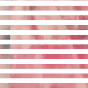 Pink Dyed Stripes