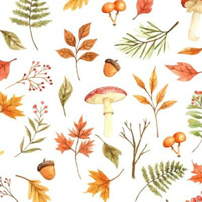 Fall Foliage // White