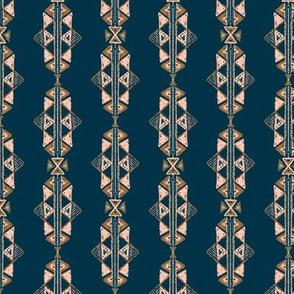 Arabian nights , SADO Pattern on blue