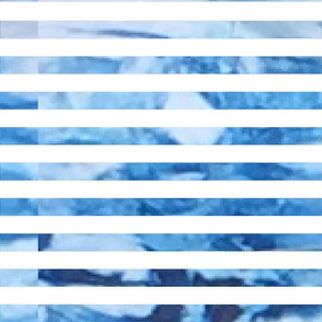 Indigo Dyed Stripes