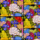 Fabulous Florals #1  Small Scale