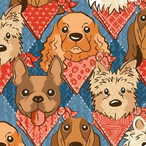 Bandana dogs L