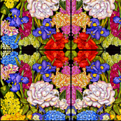 Fabulous Florals #1 Abstract Pattern