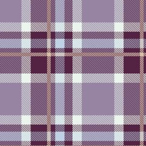 Purple and Magenta Plaid V.04