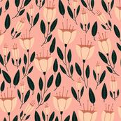 Tulip Floral-Pink